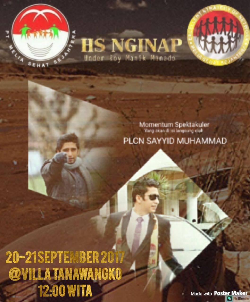 HS Nginap Manado 20-21 September