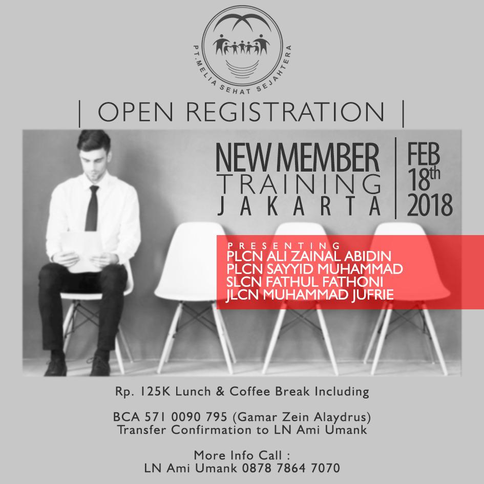 New Member Training Jakarta
